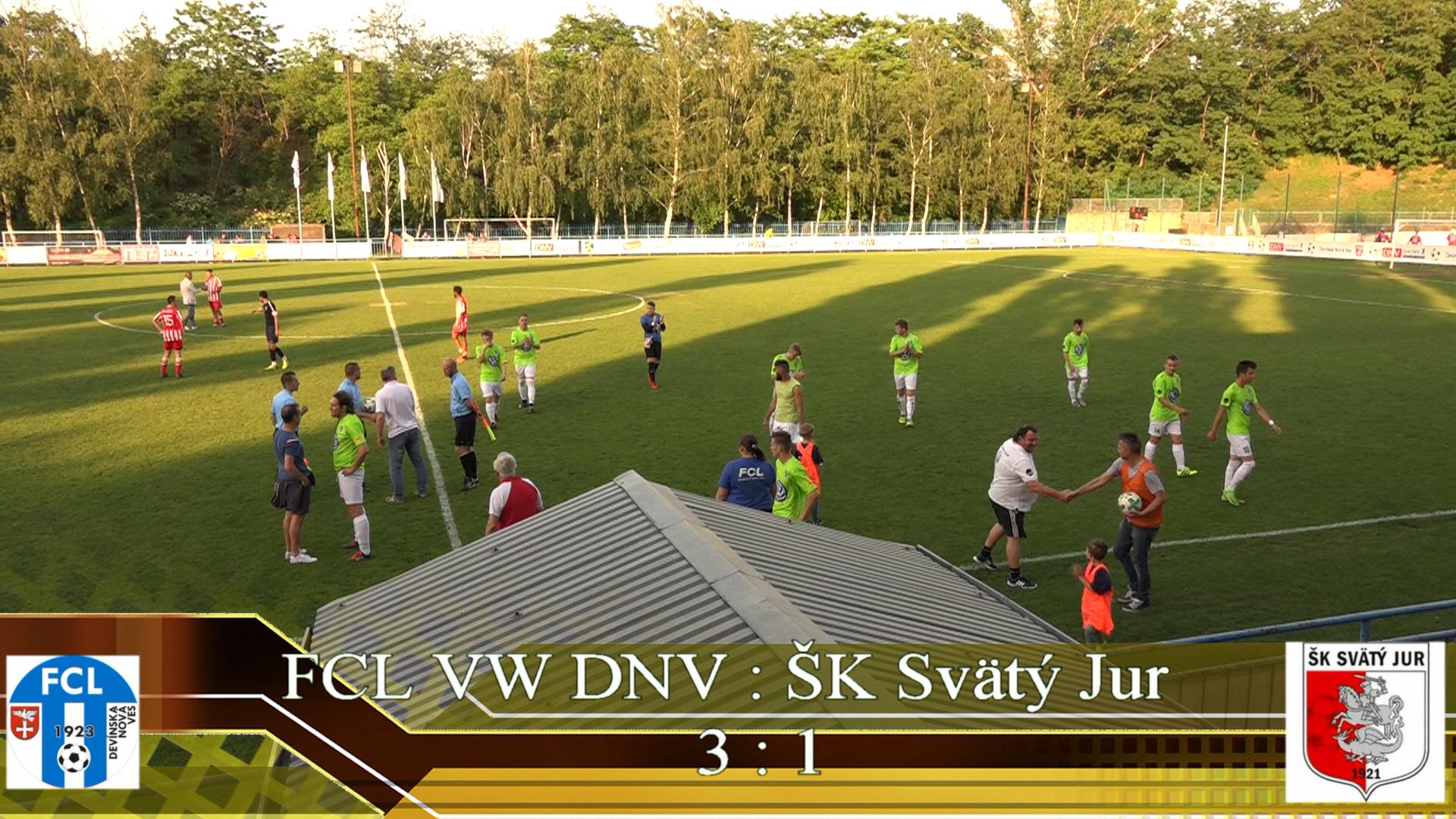 FCL VW DNV : ŠK Svätý Jur