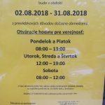Devínska Nová Ves od 23. 7. 2018