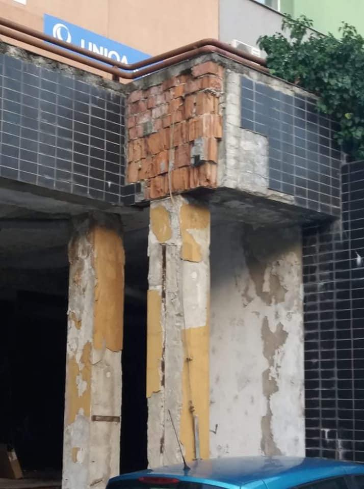 terasa na ulici Milana Marečka