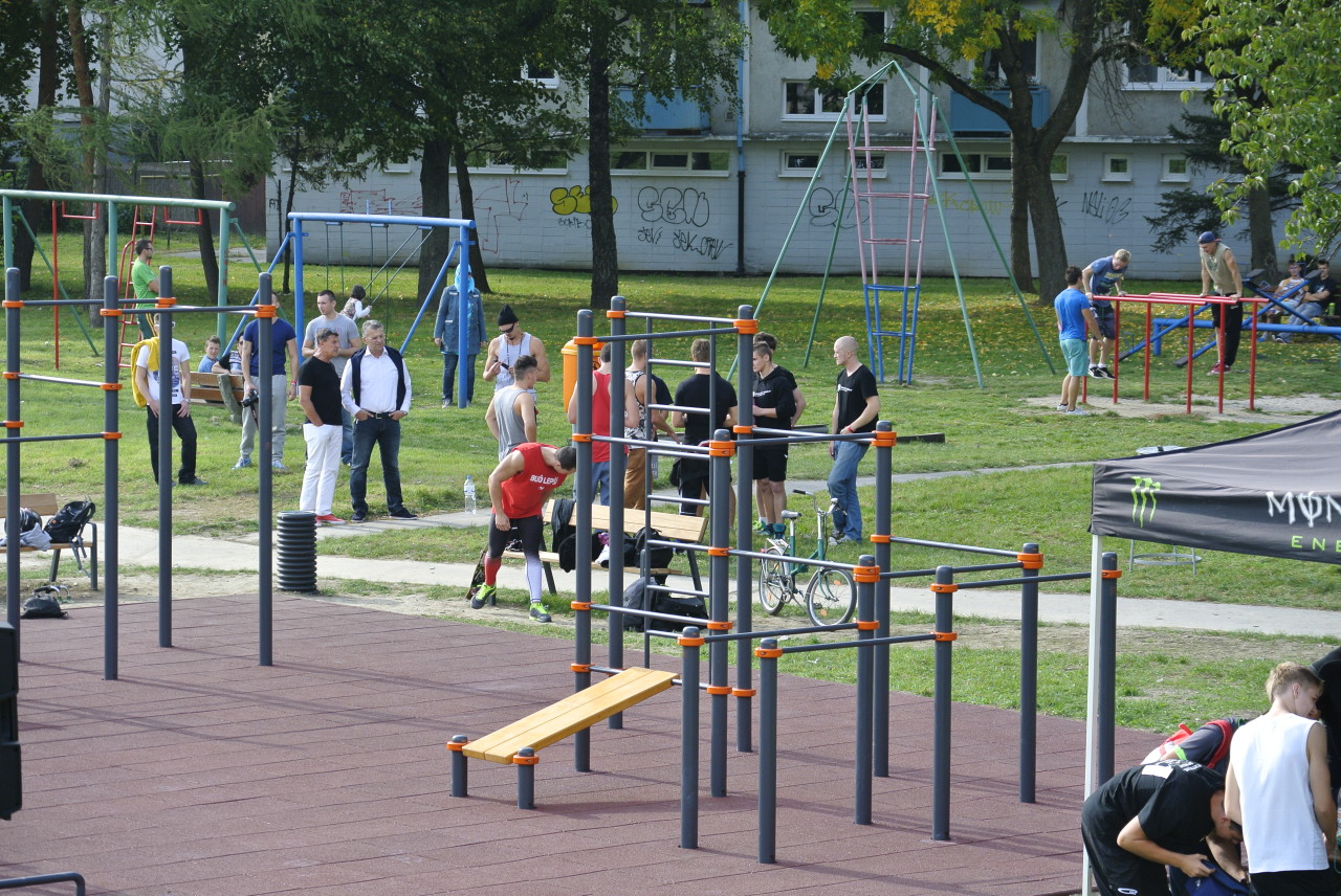 workoutové ihrisko
