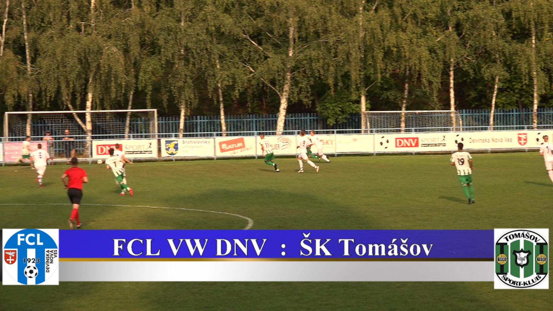 FCL VW DNV : ŠK Tomášov