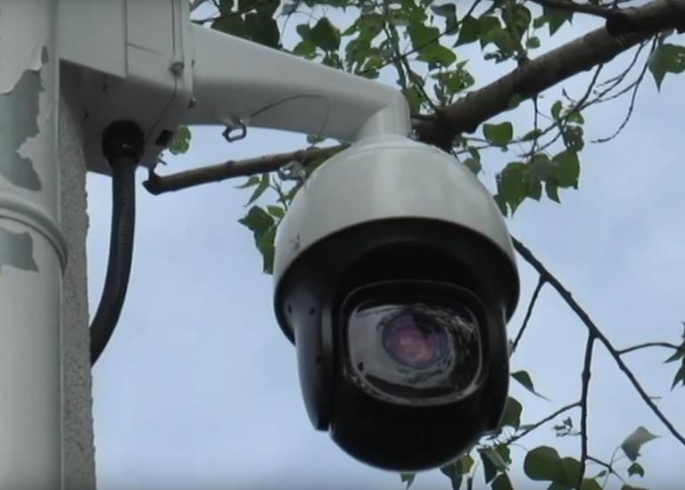 kamera na dohľadovom centre