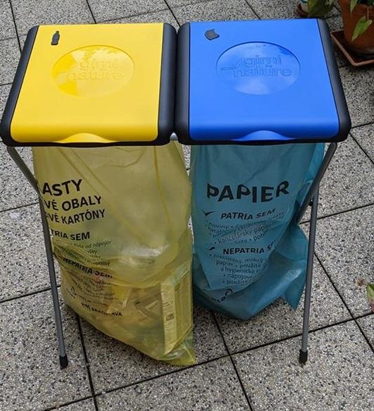 zber triedeného odpadu