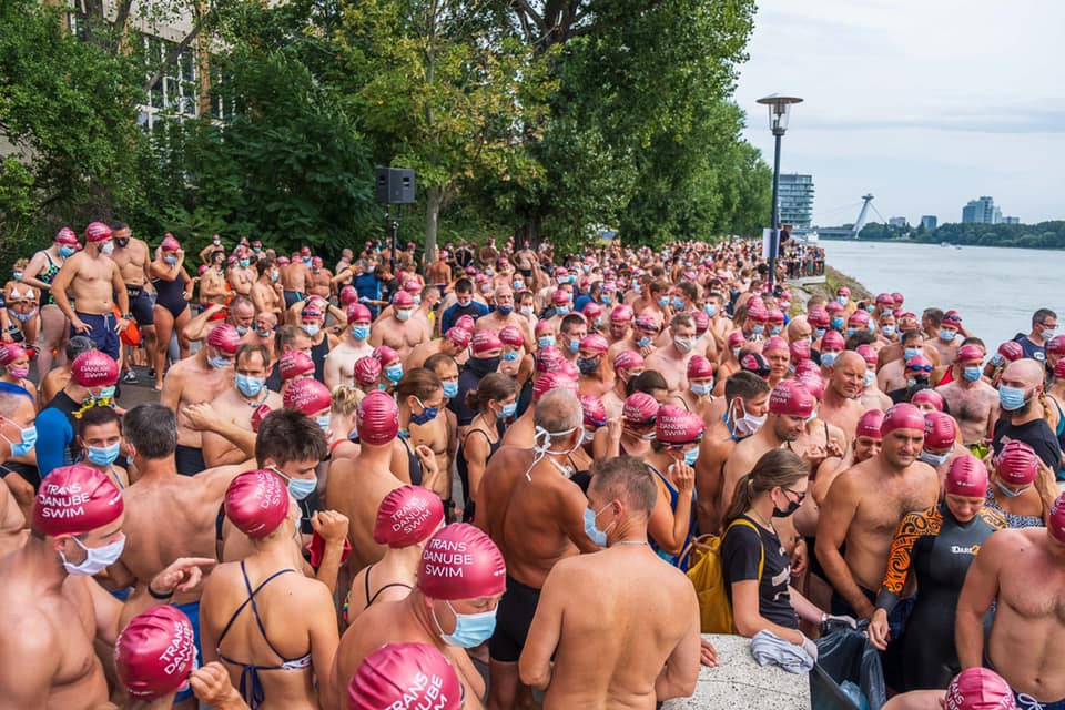 trans danube swim 2020