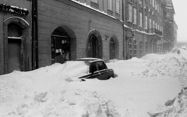 snehovú kalamitu